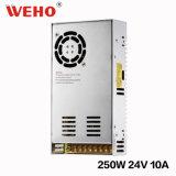 Ein-Output-Wechselstrom-/Gleichstrom-24V 10.4A Stromversorgung (S-250-24)