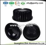 방열기 또는 알루미늄 둥글 모양 열 싱크를 위해 기계로 가공하는 CNC