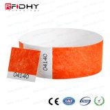 Identifikation-Band Tyvek RFID Wristband für Krankenhaus