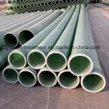 La resina de epoxi fibra de vidrio de bobinado Gre tubo