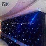 La iluminación de la etapa cubre la cortina de la estrella de Rbg LED para el acontecimiento de la boda