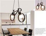 Светильник утюга формы велосипеда черноты самомоднейшей конструкции трактира привесной