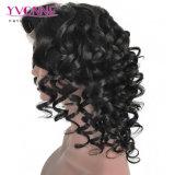 Enrollamiento animoso de la peluca del frente del cordón de Estesnion del pelo humano de Fantasty para las mujeres negras