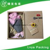 Caja de cartón del regalo/rectángulo de regalo de empaquetado para la Navidad