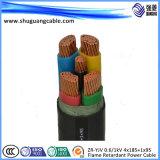 Screened/XLPE Insulated/PVC a engainé/câble échoué/ordinateur/instrumentation