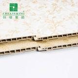 el panel de pared decorativo interior del PVC del aislante/de Flam Retartant del &Heat del sonido ambiental Laminatedmarble envuelto, película del PVC de Paaper del paño