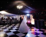Vente en gros en bois portative extérieure d'étage de danse de pistes de danse de mariage