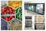 Congelador industrial da fruta Frozen da carne do alimento dos petiscos dos vegetais