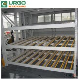 Diapositiva de acero ajustables para rack de flujo de caja de cartón de China