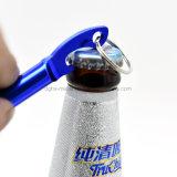 キーホルダー(HSYJBJ049)が付いているマルチ機能整形ビール瓶のオープナ