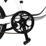 Mini elektrisches Fahrrad mit dem 20 Zoll-Gummireifen und versteckter Batterie