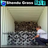 A China faz barato, alta densidade, 10 mm Verde Escuro relva artificial