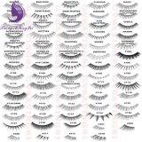 El ojo largo natural de las pestañas falsas azota la pestaña profesional del Faux del maquillaje de la extensión