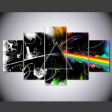 Moderner Panel-Musik-Ausgangsdekor-Druck der Segeltuch-Farbanstrich-Rahmen-Kunst-Plakat-Wand-Abbildung-5 auf Segeltuch für Wohnzimmer-Rahmen