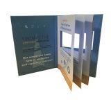 7pouces écran Vidéo Brochure pour la publicité