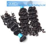 Vierge 100% aucune trame brésilienne de rejet de cheveu (KBL-BH-DW)