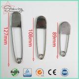 Goupille de sécurité intense industrielle de blanchisserie en métal grande