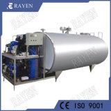 Aço inoxidável tanques refrigerados de refrigeração do leite do tanque de leite