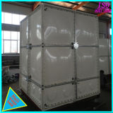 Une élévation de l'acier réservoir d'eau en coupe de PRF en fibre de verre SMC les réservoirs de stockage de l'eau en PVC