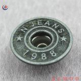 Fabrication prix logo personnalisé unique bouton Jeans de métal