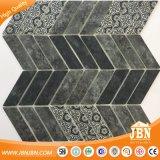 Mosaico de cristal del cuarto de baño del azulejo Herringbone de la pared (V637004)