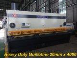 Máquina de corte da placa hidráulica de corte CNC