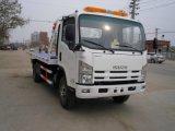 일본 상표 5-8tons 평상형 트레일러 토우 구조차 트럭, 도로 구획 제거 트럭