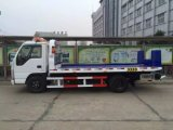 Venda quente do tipo de Japão caminhão de reboque Flatbed do Wrecker de 3 toneladas, caminhão da recuperação na venda