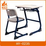 Juniroの学校鉄骨フレームおよびプラスチックデスクトップが付いている単一学生の机