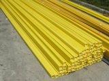 Tubo del rectángulo de la fibra de vidrio FRP Pultruded de GRP