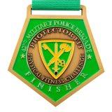 Haute qualité Honor Award Médaille religieuse personnalisé avec des rubans