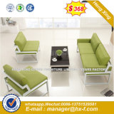 Modernos muebles de madera de cuero para ejecutivos Oficina sofá (HX-SN8086)