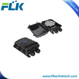 4 à 6 ports fibre optique horizontal de la fermeture de l'épissure