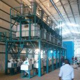 トウモロコシ30t/24hのコーンフラワーの製造所のトウモロコシの製粉機械のための産業製造所