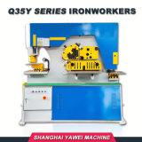 Q35y-25 Yawei гидравлический утюг работник с расцеплением, перфорационных отверстий и функции