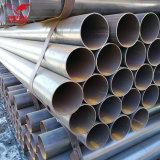 Tubo hueco circular soldado ERW del acero del tubo de acero del negro de la sección de Q195 Q235 Q345