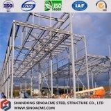 Construction préfabriquée de centre commercial de structure métallique