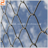 Cabo de cordas de aço inoxidável Tecidos de malha de cabo de Esgrima Zoo Animal