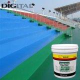 Waterbase im Freien Epoxidlack des fußboden-3D
