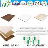 25cm7mm panel de techo único láser estampado en caliente PVC / 7,5 mm (RN-05)