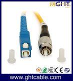 Fibra óptica patch cord sc-FC de Fibra Óptica