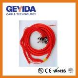 Cavo di zona di fibra ottica di sblocco multiconduttore di FC/Upc