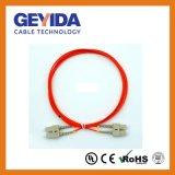 Sc Duplex mm cordon de raccordement à fibre optique