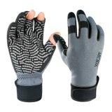 L'hiver imperméables par temps froid Windproof Pêche à la Mouche des gants en néoprène Grip silicone meilleur UV des gants de Sun