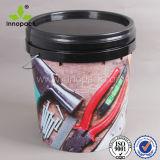20L 마루 도와 물통을 인쇄하는 플라스틱 4 색깔