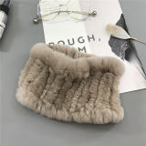 Оптовая торговля дешевые головная стяжка / Кролик мех горловины теплее шаль волос диапазона