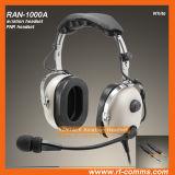 Écouteur passif d'aviation d'écouteurs de réduction du bruit dans le blanc
