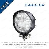 Arbeits-Licht 24W des 4.3 Zoll-Selbstauto-LED weg Flut-dem Licht von der Straßen-LED
