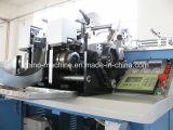 Kleidungs-Kennsatz-Ausschnitt-und Falz-Maschine CNC-Ys-6000 Ultraschall-