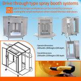 Dirija através de pó manual de spray Booth Sistema